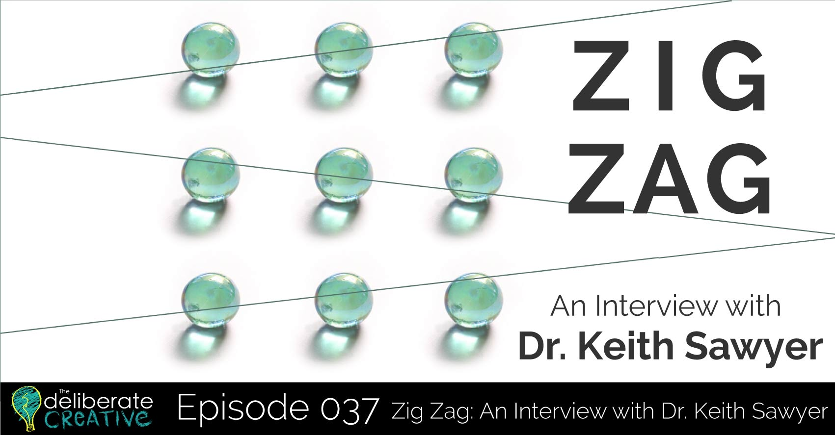 The Deliberate Creative Podcast Episode 37: An Interview with Dr. Keith Sawyer