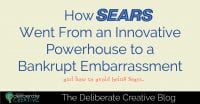 The Deliberate Creative Blog: Sears