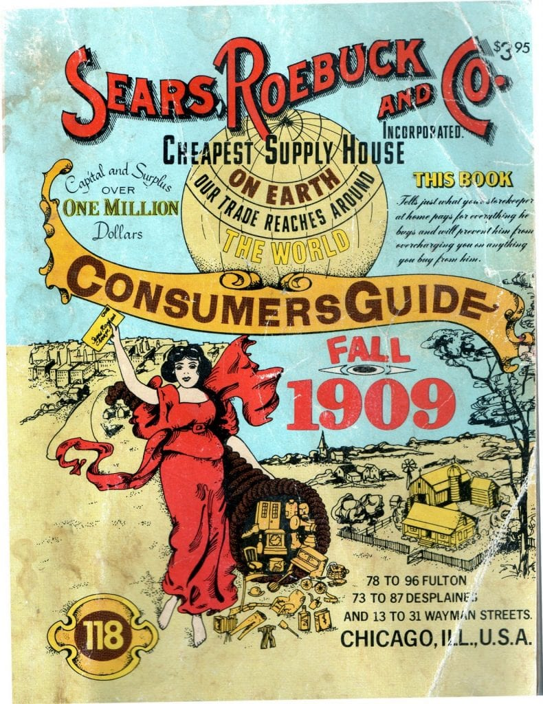 Sears Catalog Cover 1909