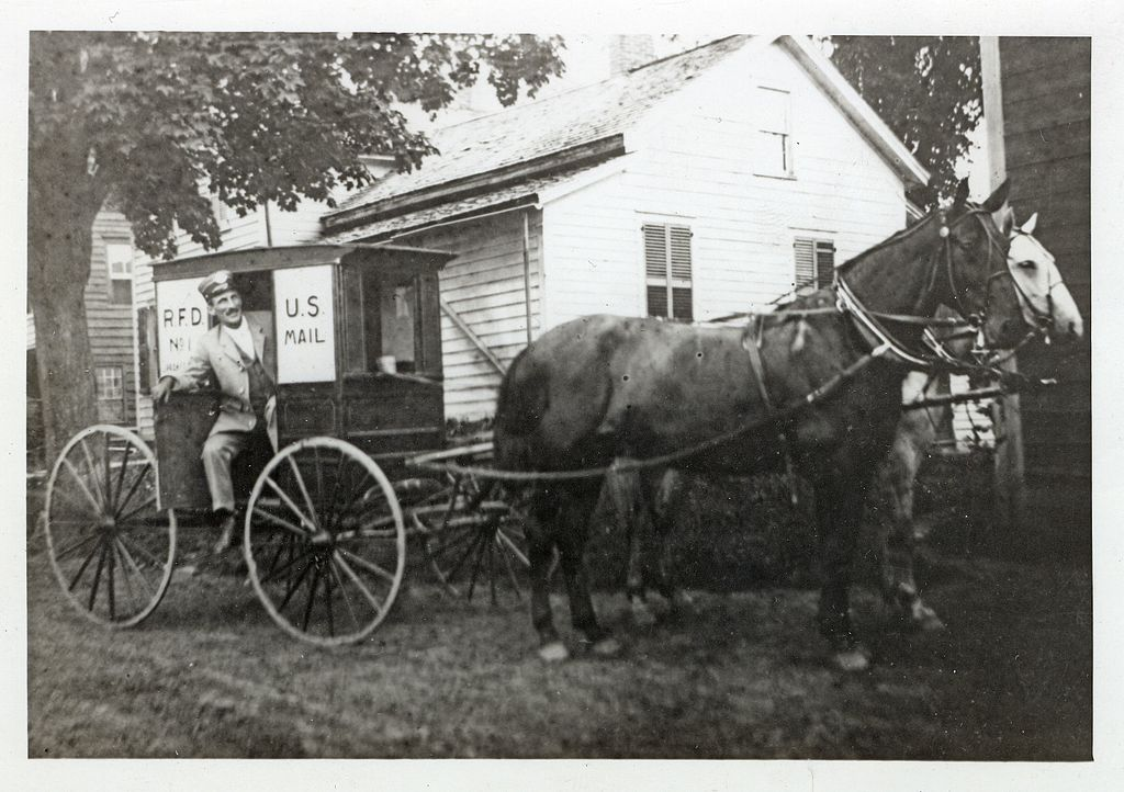 US Postal Service Rural Wagon and Carrier